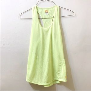 Lucy lime green tank top